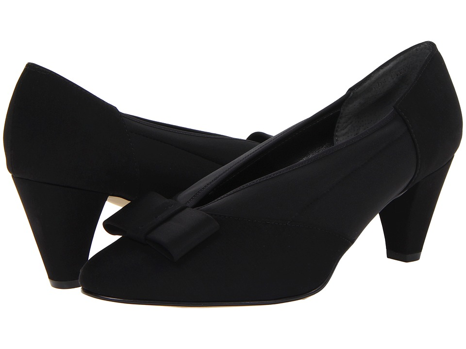 Rose Petals - Hope (Black Micro/Stretch) Women's Shoes