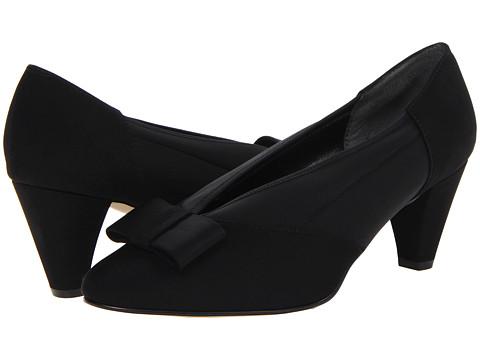 Rose Petals - Hope (Black Micro/Stretch) Women's Shoes