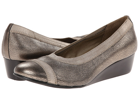 Rose Petals - Money (Mid Bronze Antique Metallic) Women's Wedge Shoes