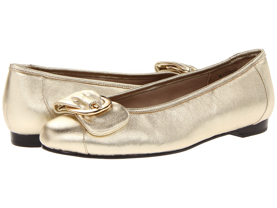 Rose Petals - Neat (Gold Sheep) Women's Flat Shoes