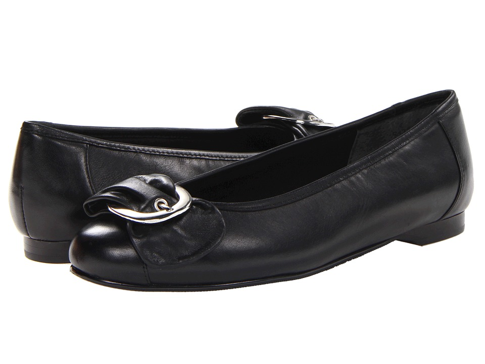 Rose Petals Neat (Black Nappa Leather) Women
