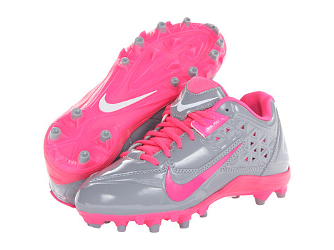 Nike Speedlax 4 (Stealth/Pink Flash) Women's Cleated Shoes