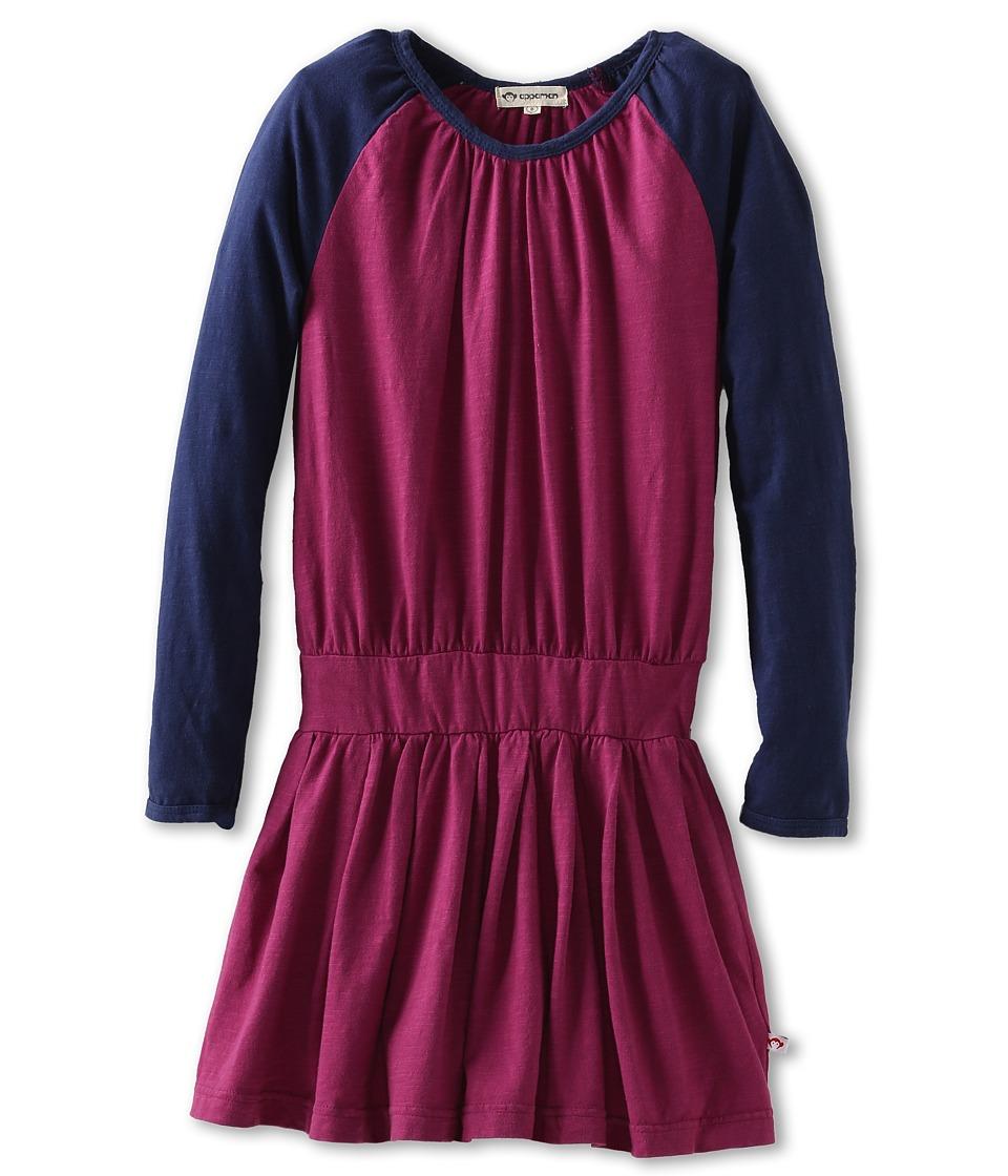 Appaman Kids Girls Soft Retro Inspired Varsity Dress Girls Dress (Pink)