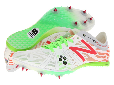 New Balance - WMD800v3 (White/Lime/Race Red) Women's Running Shoes