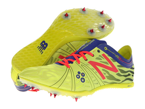 New Balance - WMD800v3 (Neon Yellow/Purple/Race Red) Women
