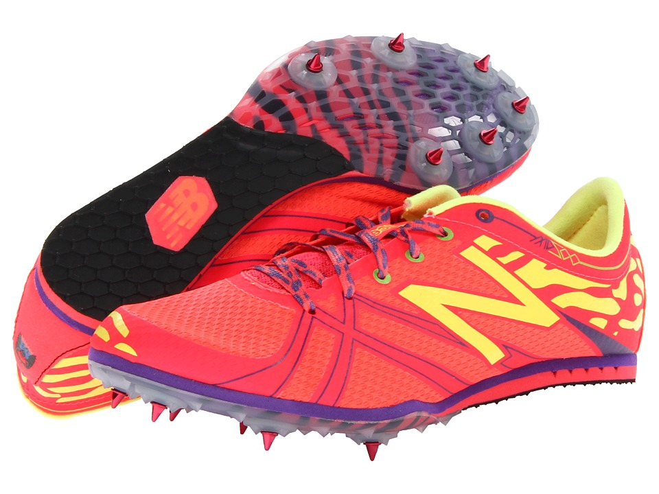 New Balance - WMD500v3 (Diva Pink/Yellow/Purple) Women's Running Shoes