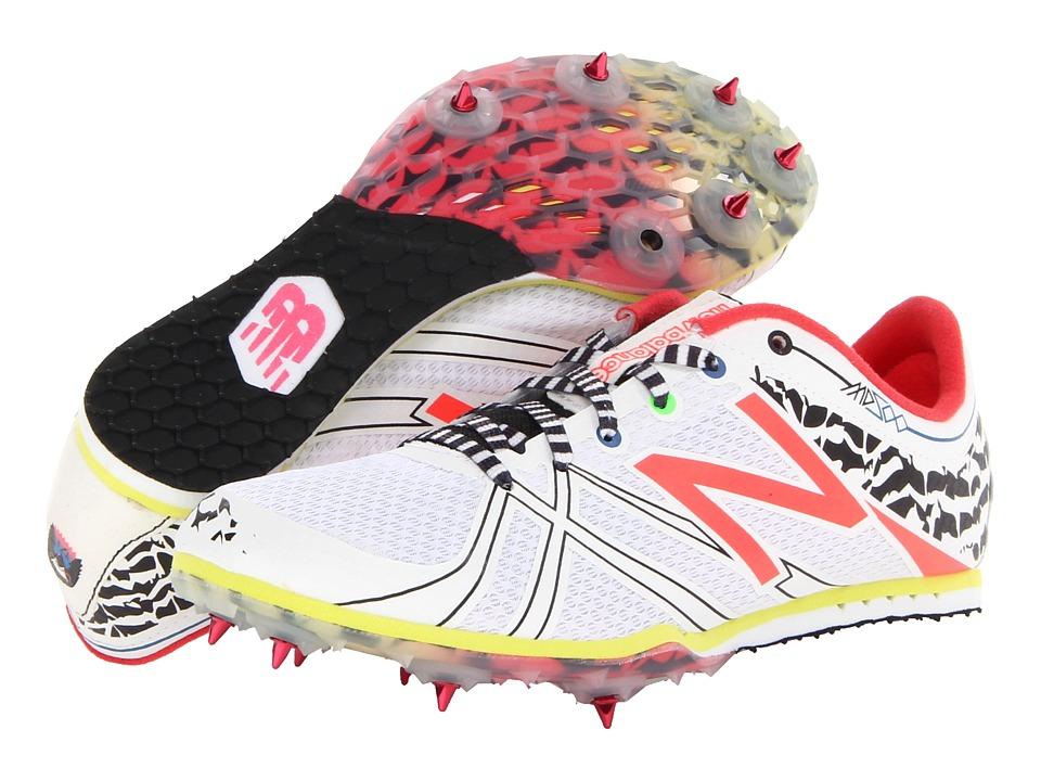 New Balance - WMD500v3 (White/Diva Pink/Black) Women's Running Shoes