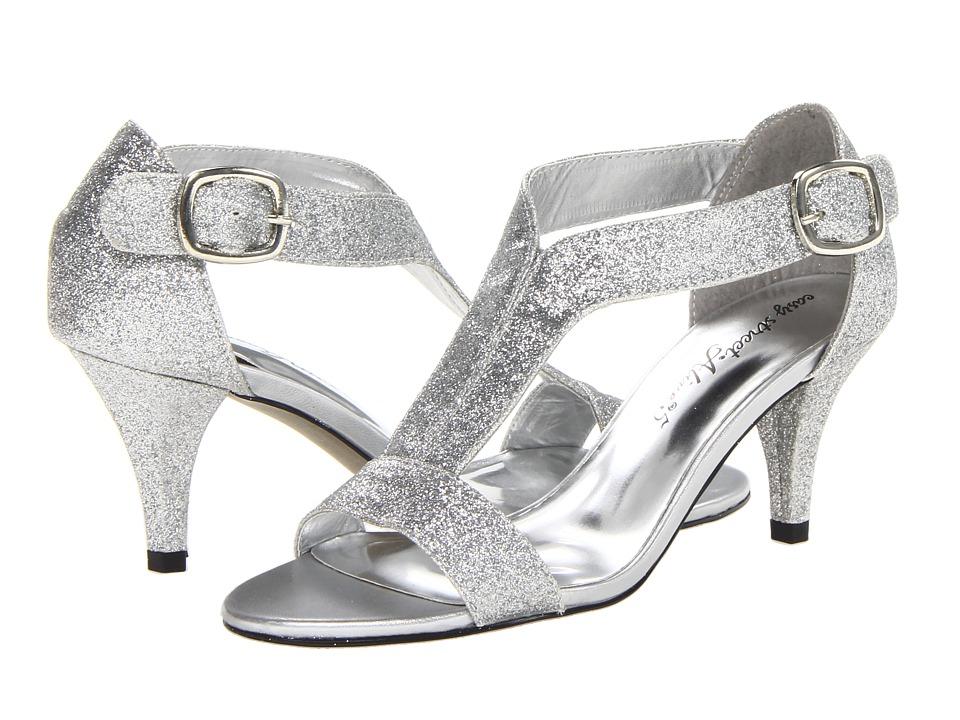 Easy Street - Glitz (Silver Glitter w/Easy Flex Dance Sole) Women's Shoes