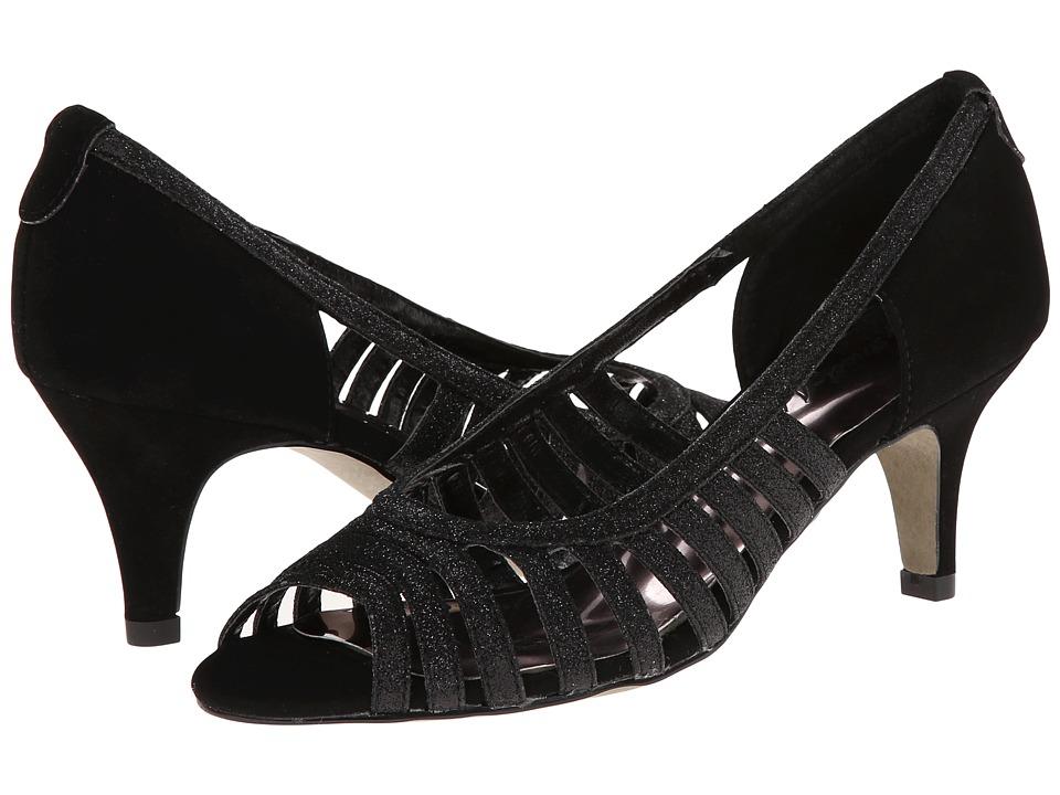 Easy Street Sparkle (Black Glitter w/Easy Flex Dance Sole) High Heels