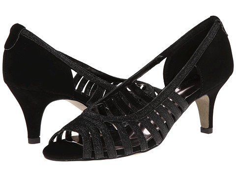 Easy Street - Sparkle (Black Glitter w/Easy Flex Dance Sole) High Heels