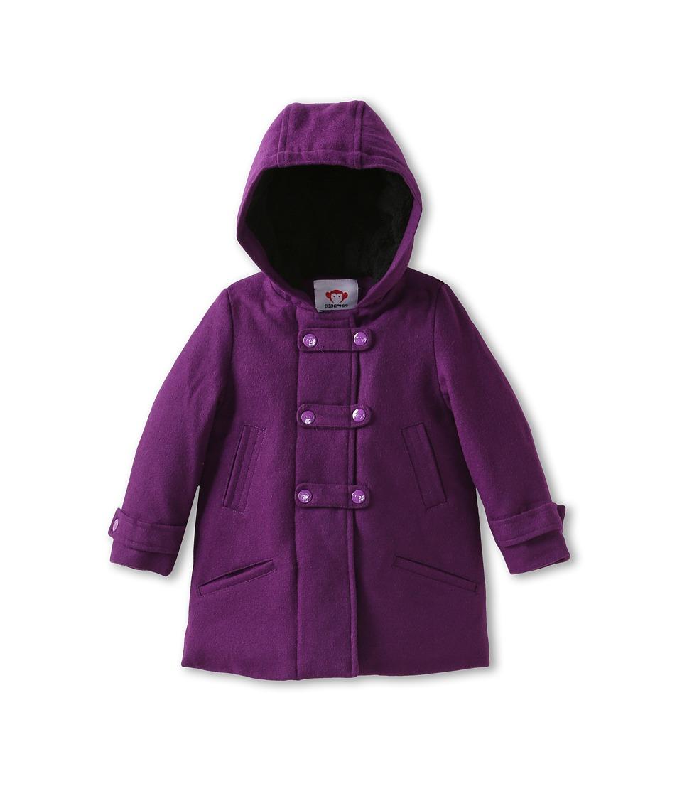Appaman Kids Girls Soft Structured Fleece Sedgwick Coat Girls Coat (Purple)