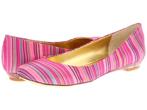 Nine West - Guzzler (Pink Fabric) Women's Flat Shoes