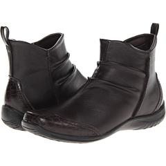 Easy Street Tina (Brown Tumbled Croco) Footwear