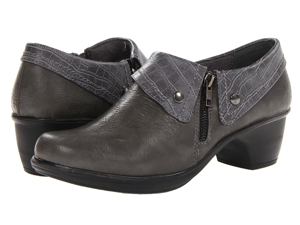 Easy Street Darcy (Grey/Grey Croco) Women