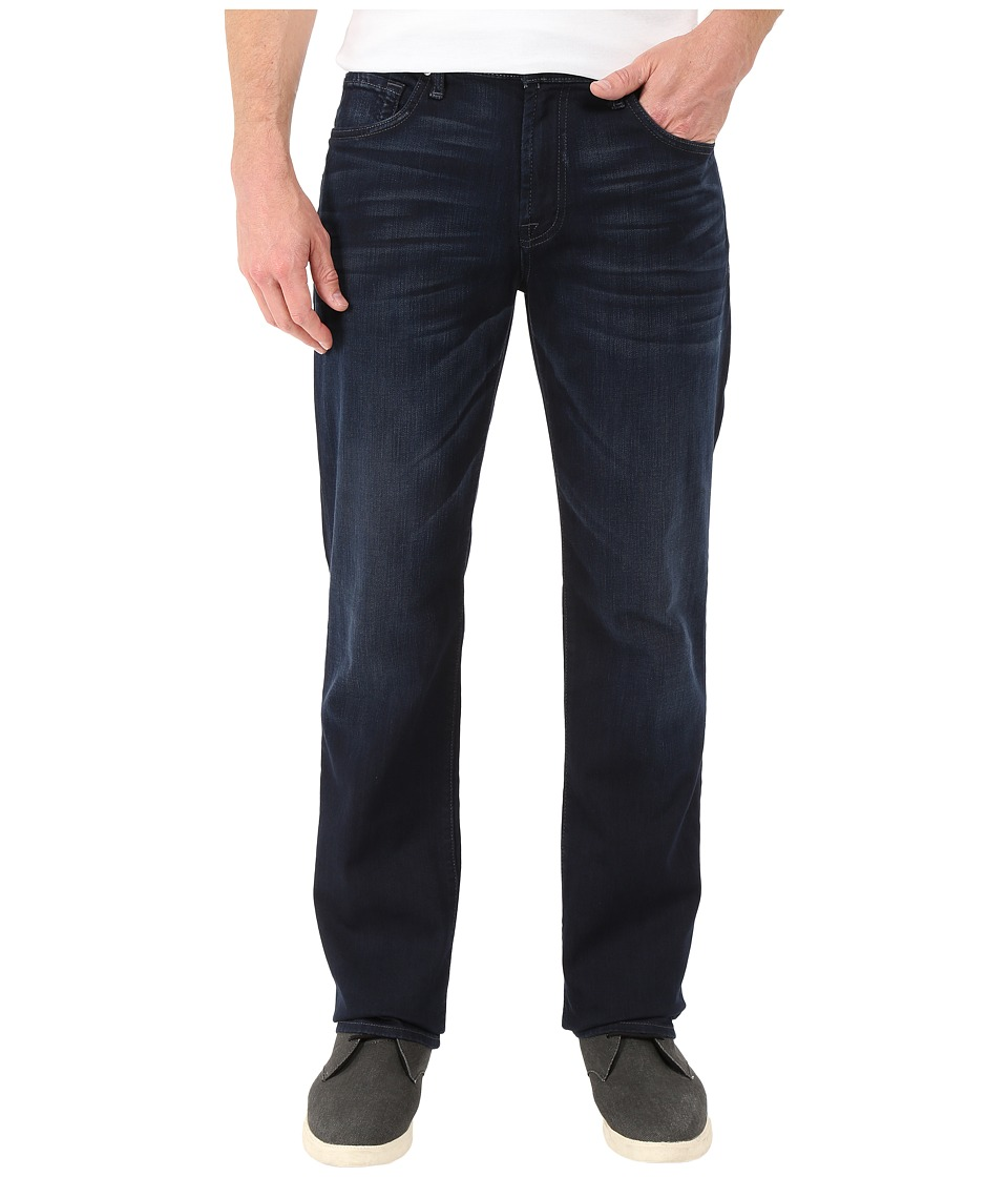 7 For All Mankind - Luxe Performance Carsen Easy Straight in Blue Ice (Blue Ice) Men's Jeans