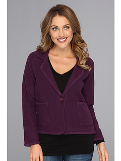 SALE! $89.99 - Save $90 on Pendleton Petite Aidan Boiled Wool Cardigan (Deep Purple) Apparel - 50.01% OFF $180.00