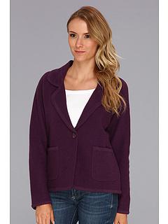 SALE! $54.99 - Save $125 on Pendleton Aidan Boiled Wool Cardigan (Deep Purple) Apparel - 69.45% OFF $180.00