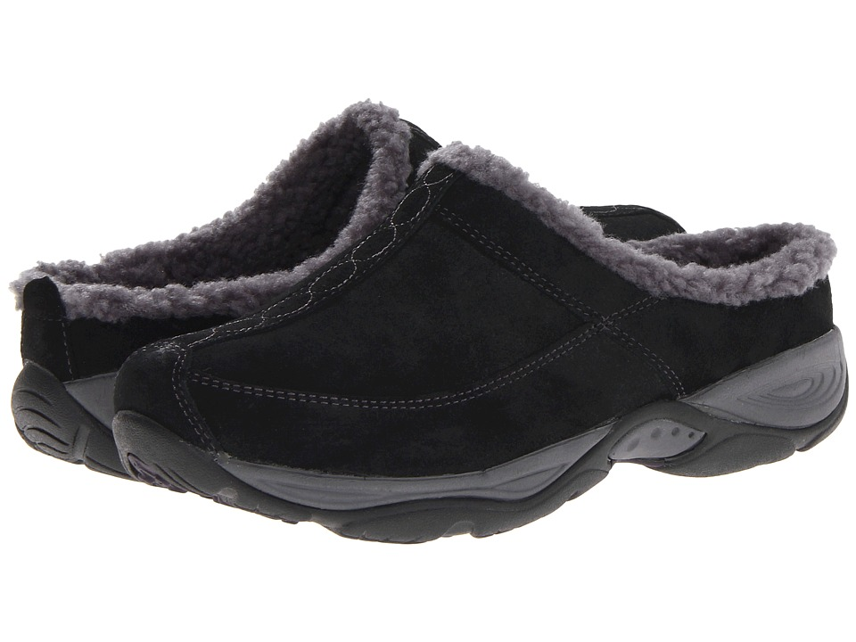 Easy Spirit - Exchange (Black/Dark Grey Suede) Women's Shoes