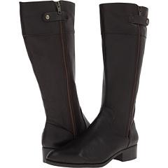 Easy Spirit Dembra (Dark Brown Dark Brown Leather) Footwear