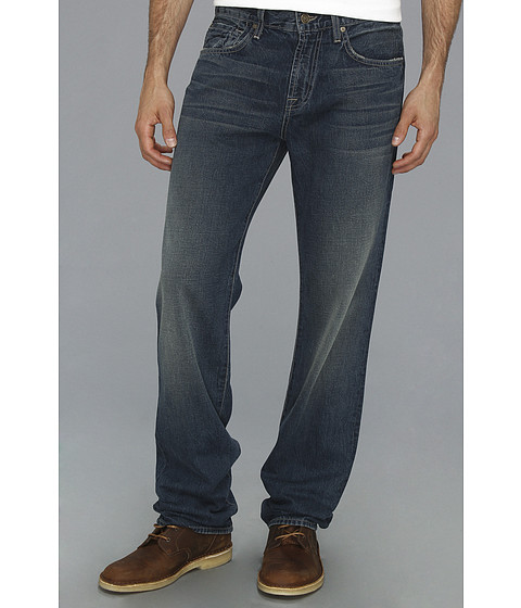 7 For All Mankind - Carsen Easy Straight in Brooklyn Bay (Brooklyn Bay) Men's Jeans