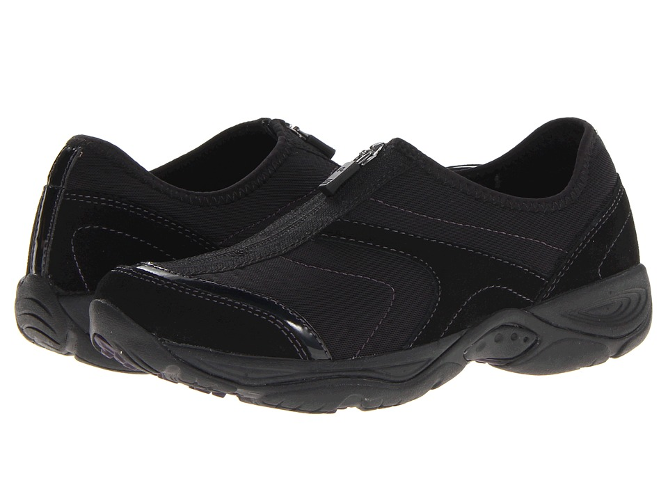Easy Spirit - Ellicott (Black/Dark Purple) Women's Shoes