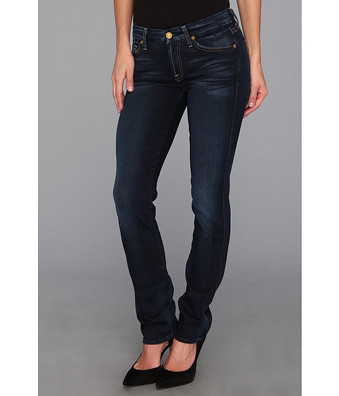 7 For All Mankind - Kimmie Straight Leg in Slim Illusion Merci Blue (Slim Illusion Merci Blue) Women's Jeans