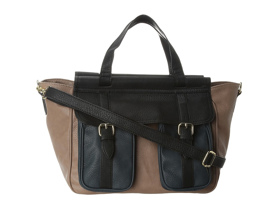 BCBGeneration - The Xl (Taupe Combo) Satchel Handbags