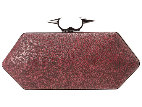 BCBGeneration - The No Doubt Minaudiere (Cabernet) Clutch Handbags