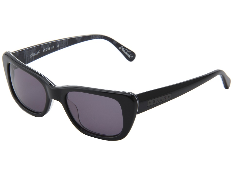 RAEN Optics - Chaise (Black w/ Nomad Interior) Plastic Frame Fashion Sunglasses