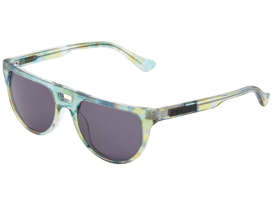 RAEN Optics - Astyn (Aqua w/ Kaleidoscope) Plastic Frame Fashion Sunglasses