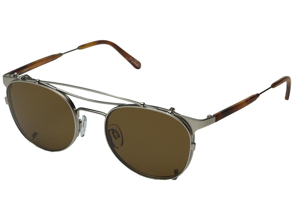 RAEN Optics - Stryder (Rootbeer Tortoise - Silver) Sport Sunglasses