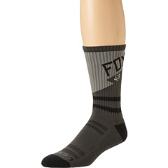 SALE! $9.99 - Save $4 on Fox Machina Crew Sock 1 Pair Pack (Charcoal) Footwear - 28.64% OFF $14.00