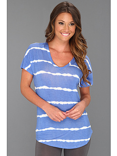 SALE! $14.99 - Save $27 on P.J. Salvage Tie Dye Days Sleep Top (Blue) Apparel - 64.31% OFF $42.00