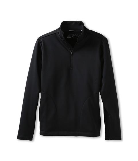 Nike Kids - Thermal Coverup (Big Kids) (Black/Black) Boy's Coat