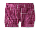 Nike Kids Girl's Plaid Short