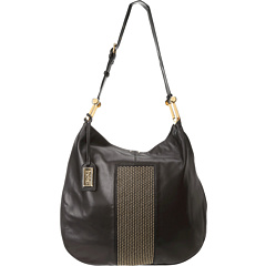 SALE! $251.99 - Save $203 on Badgley Mischka Ellen Stud Nappa Hobo (Black) Bags and Luggage - 44.62% OFF $455.00