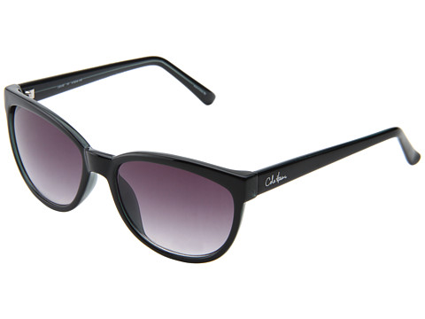 Cole Haan - C 6046 (Black) Plastic Frame Fashion Sunglasses