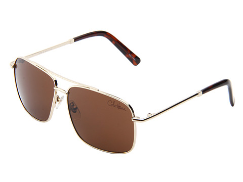 Cole Haan - C 745 (Distressed Gold) Metal Frame Fashion Sunglasses