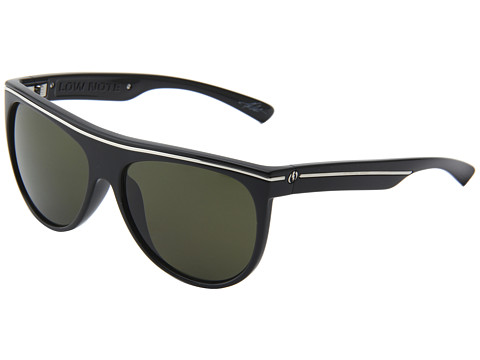 Electric Eyewear - Low Note Polarized (Gloss Black/Melanin Grey Polarized) Sport Sunglasses