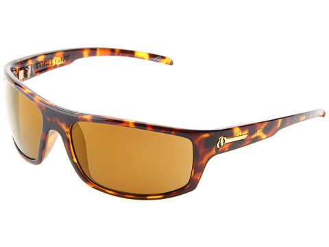 Electric Eyewear - Tech One Polarized (Tortoise Shell/Melanin Level Ii Bronze Polarized) Plastic Frame Sport Sunglasses
