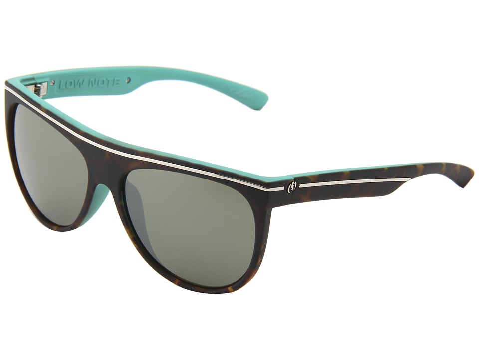 Electric Eyewear - Low Note (Tropical Tort/Melanin Grey Chrome) Sport Sunglasses