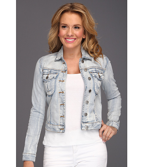 KUT from the Kloth - Button Front Jacket W/ Pocket (Sweet) Women