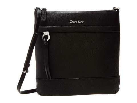 Calvin Klein - Key Item Lt Crossbody (Black) Cross Body Handbags