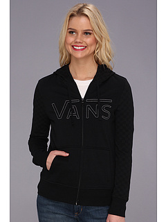SALE! $39.99 - Save $10 on Vans Queensboro Checkered Fleece (Black) Apparel - 19.21% OFF $49.50