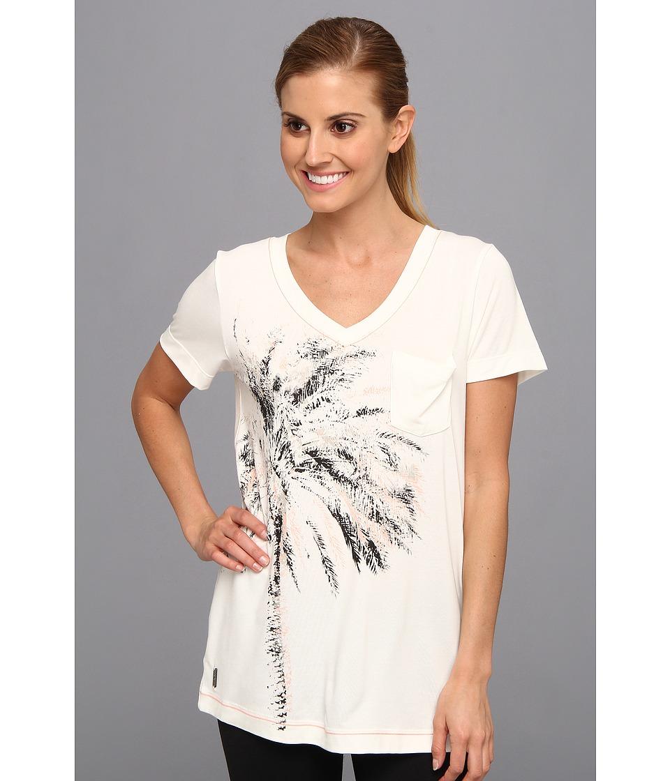 Lole - Aimee Top (Cloud Heather) Women's Short Sleeve Pullover