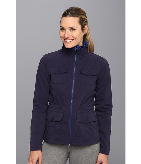 Lole - Postcard Jacket (Evening Blue) Women's Coat