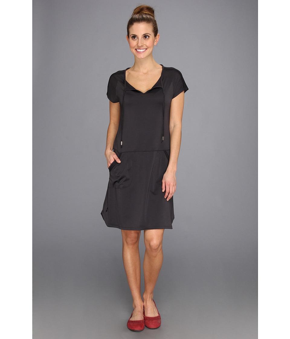 Lole - Energic Dress (Black Stripe) Women's Dress