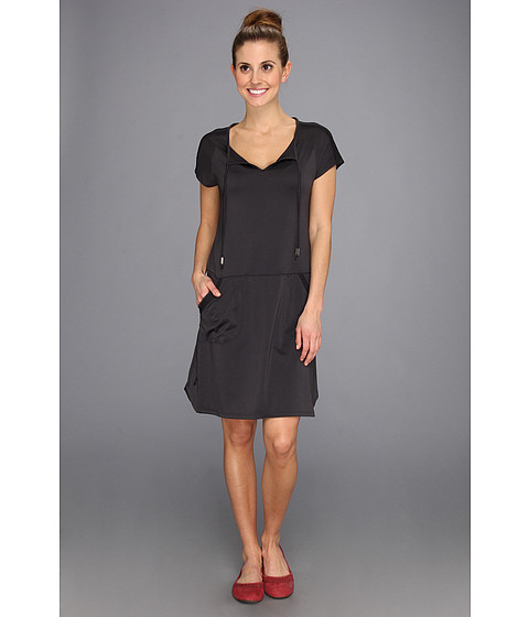 Lole - Energic Dress (Black Stripe) Women