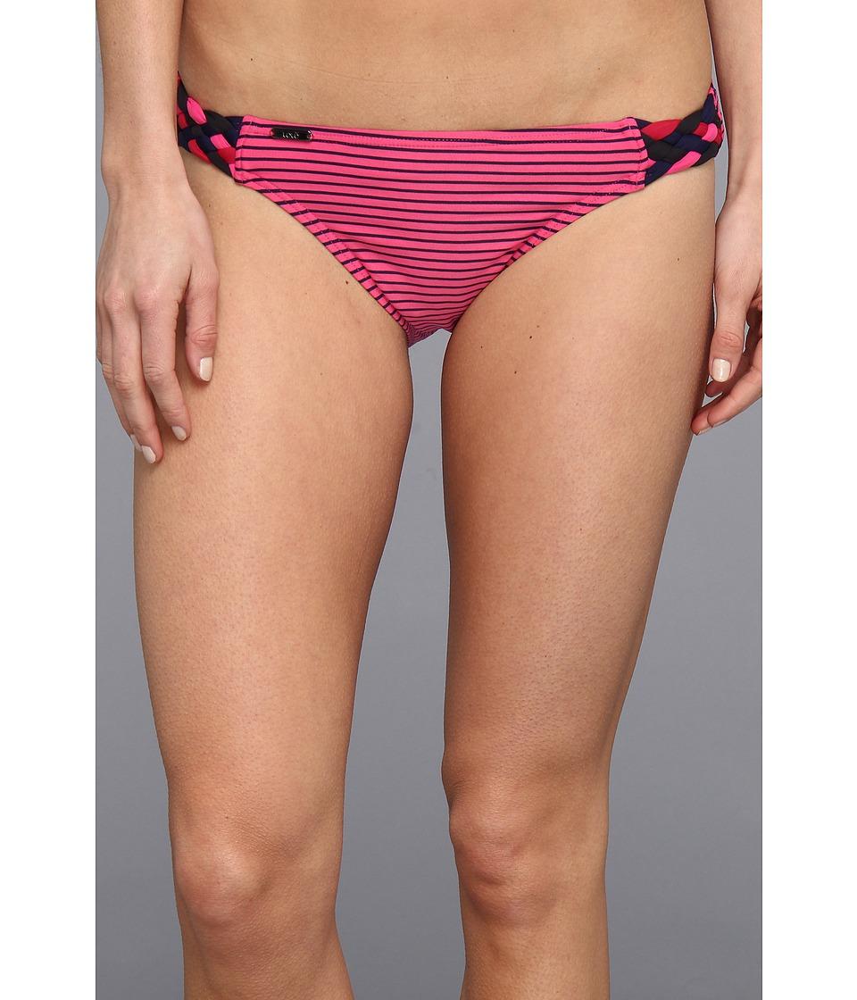 Lole - Malta Bikini Bottom (Sahari Guava/Solidate Blue) Women's Swimwear