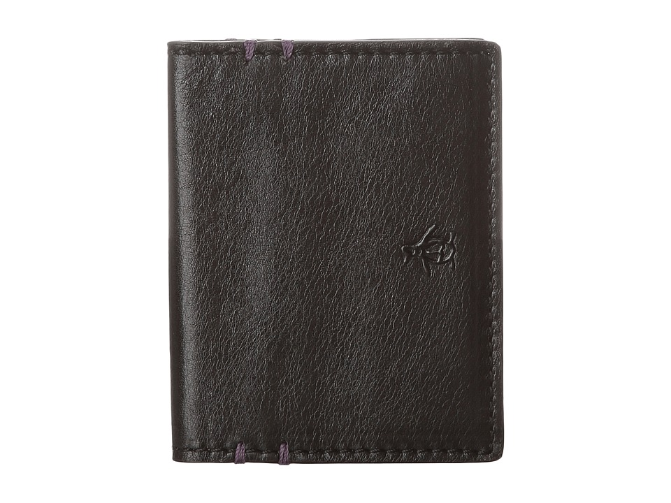 Original Penguin - Leather Wallet (Black) Bi-fold Wallet